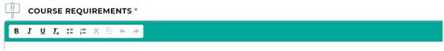 publish offline course18- course requirements.png