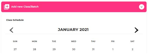 publish offline course24-add new batch calender.png